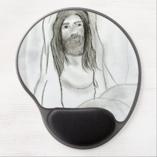 Jesus In Cave Gel Mouse Pad