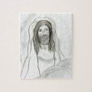 Jesus In Cave Jigsaw Puzzle