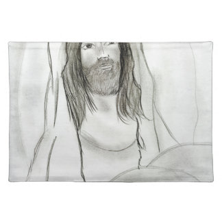 Jesus In Cave Placemat