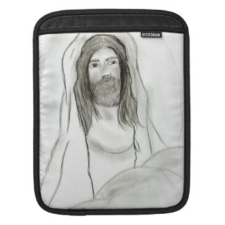 Jesus in Cave Sleeve For iPads