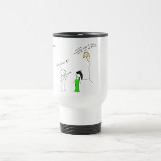 """""""Jesus in High School"""" Insulated Drinking Cup"""
