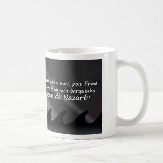 Jesus in my cockle-boat coffee mug