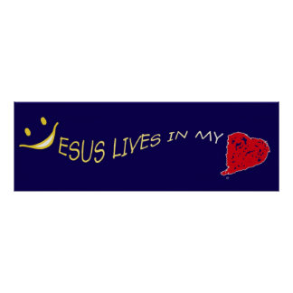 Jesus in my heart Poster Collection