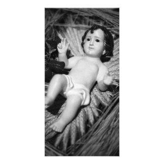 Jesus in the crib card