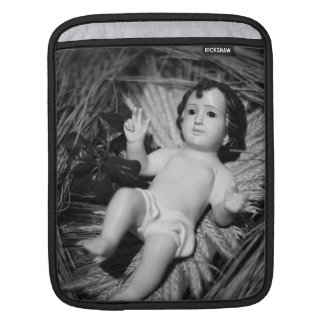 Jesus in the crib sleeve for iPads