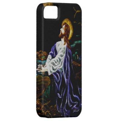 Jesus in the Garden of Gethsemane iPhone 5 Case