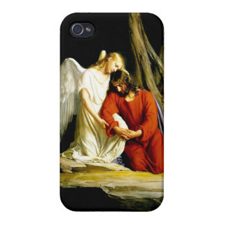 Jesus in the garden of Gethsemane Covers For iPhone 4