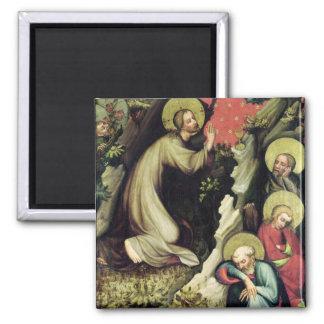 Jesus in the Garden of Gethsemane Magnet