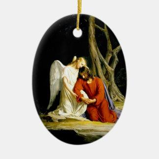 Jesus in the Garden of Gethsemane Ornament