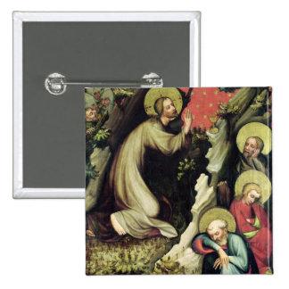 Jesus in the Garden of Gethsemane Pinback Button
