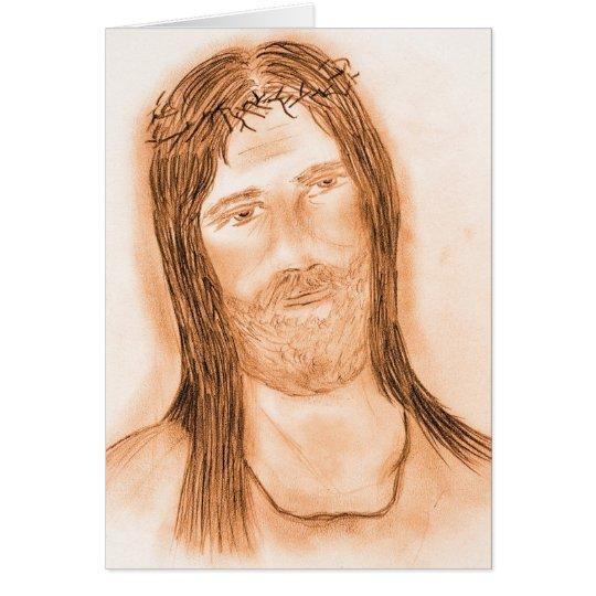 Jesus in the Light Card
