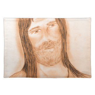 Jesus in the Light Cloth Placemat