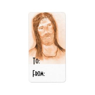 Jesus in the Light Address Label