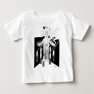 Jesus In the Midst of the Seven Candlesticks Baby T-Shirt