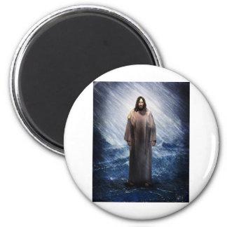 Jesus in the storm magnet