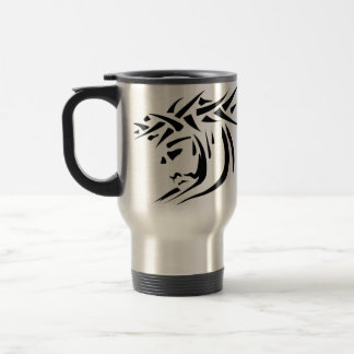 Jesus ink, HE WAS WOUNDED FOR OUR TRANSGRESSIONS! Travel Mug