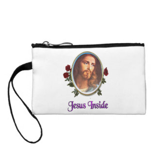 Jesus Inside christian products Coin Purses