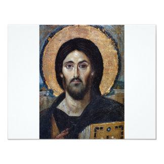 "Jesus 4.25"" X 5.5"" Invitation Card"