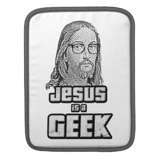 Jesus is a geek sleeve for iPads