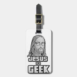 Jesus is a geek bag tag