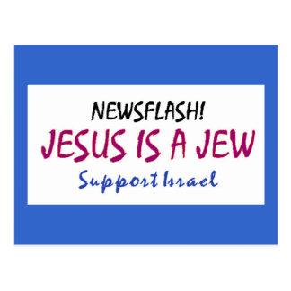 Jesus is a Jew Postcard