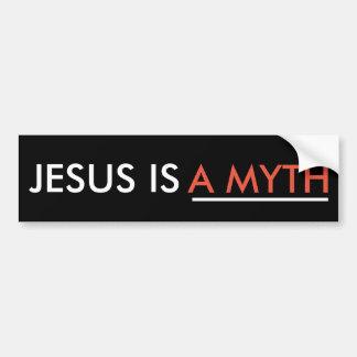 Jesus is A MYTH Bumper Sticker