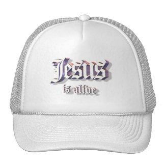 Jesus is Alive 3D Trucker Hat