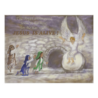 Jesus is Alive Poster