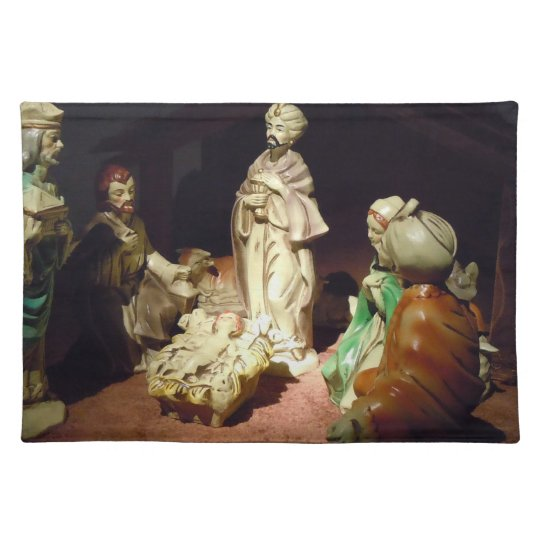 Jesus is Born Cloth Placemat