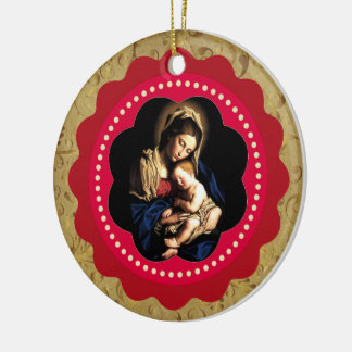 Jesus Is Born Custom Ornament