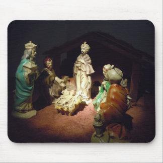 Jesus Is Born Mouse Pad