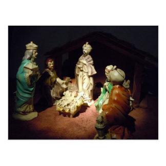 Jesus is Born Postcard