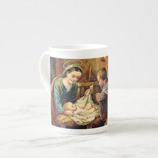 JESUS IS BORN TEA CUP