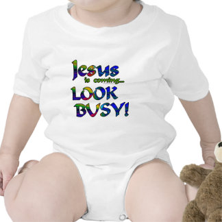 Jesus is coming...2 bodysuit