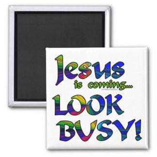 Jesus is coming...2 fridge magnets