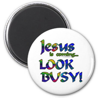Jesus is coming...2 magnets