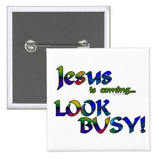 Jesus is coming...2 pin