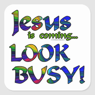 Jesus is coming...2 stickers