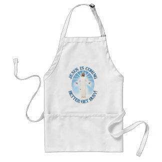 Jesus is Coming Adult Apron