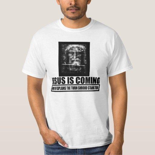 Jesus is coming atheist t shirt