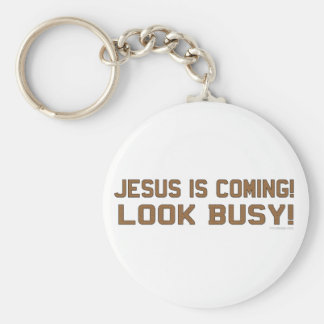 Jesus is Coming Keychain