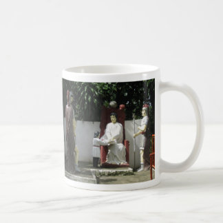 Jesus is condemned to death coffee mug