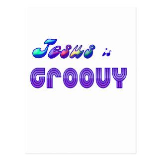 Jesus is Groovy Post Cards