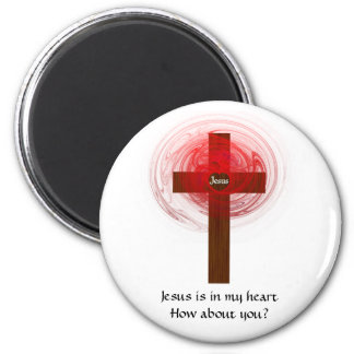 Jesus Is In My Heart Magnet