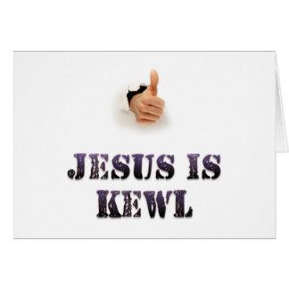 Jesus is Kewl Greeting Cards