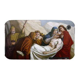 Jesus is Laid in the Tomb Stations of the Cross 14 iPhone 3 Cases