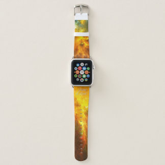 Jesus is Lord 18 Nebula 1 Apple Watch Band