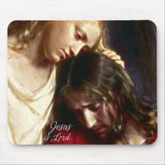 Jesus is Lord 1A Mousepad
