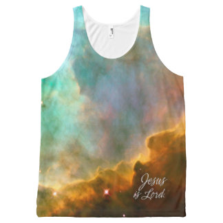 Jesus is Lord 9 A Perfect Storm.. All-Over-Print Tank Top