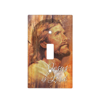 Jesus is Lord A3 Light Switch Cover